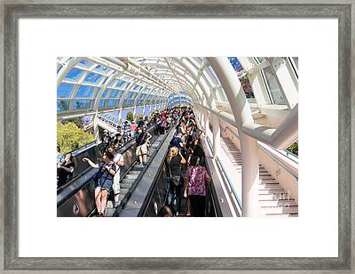 Universal Studios Hollywood California Dsc3602 Framed Print by Wingsdomain Art and Photography