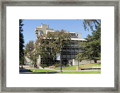 University Of California Berkeley Wurster Hall College Of Environmental Design Dsc4136 Framed Print by Wingsdomain Art and Photography