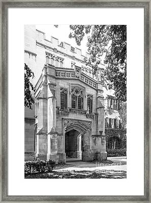 University Of Chicago Social Sciences Framed Print by University Icons