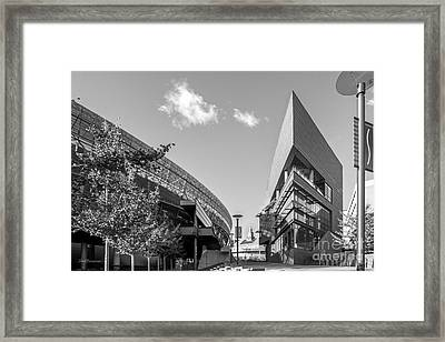 University Of Cincinnati Main Street Framed Print by University Icons