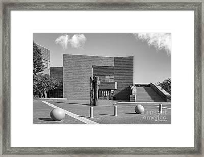 University Of Cincinnati Mary Emery Hall Framed Print by University Icons