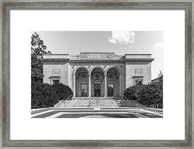 University Of Michigan Clements Library Framed Print by University Icons