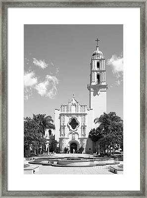 University Of San Diego The Church Of The Immaculata Framed Print by University Icons