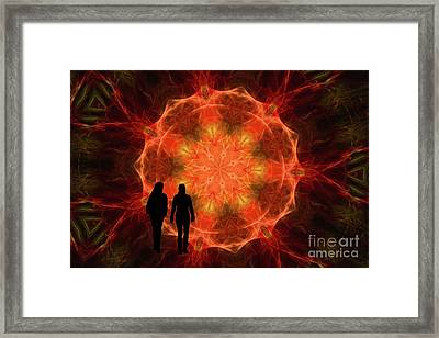 Unknown Desitiny Framed Print by Geraldine DeBoer