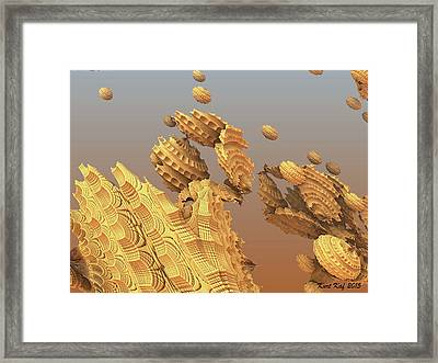 Unknown Object 2 Framed Print by Kurt Kaf