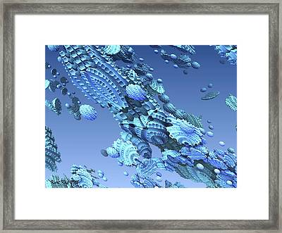 Unknown Object 3 Framed Print by Kurt Kaf