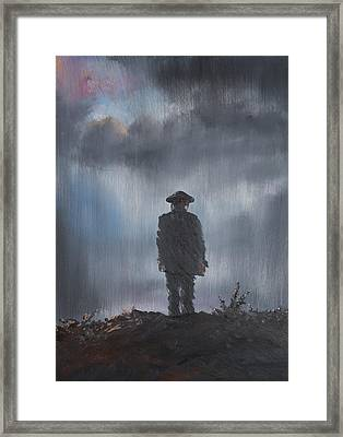 Unknown Soldier Framed Print by Vincent Alexander Booth