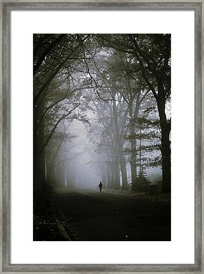 Unknown Way Framed Print by Cambion Art