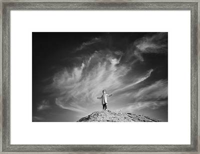 Unleashing Your Power Framed Print by Maria Jansson