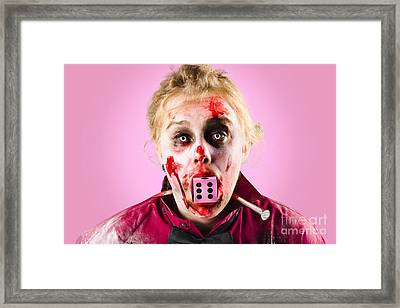 Unlucky Dead Person Losing In The Game Of Life Framed Print by Jorgo Photography - Wall Art Gallery