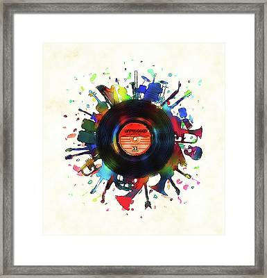 Unplugged Framed Print by Mustafa Akgul