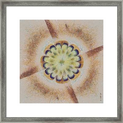 Unrealise Architecture Flowers  Id 16163-141139-83960 Framed Print by S Lurk