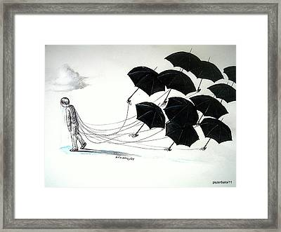 Unscathed Before The Harshness Framed Print by Paulo Zerbato