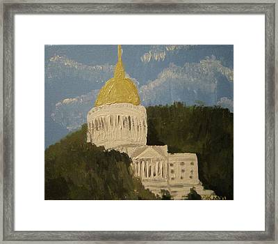 Untitled  Framed Print by Alexandra Mallory