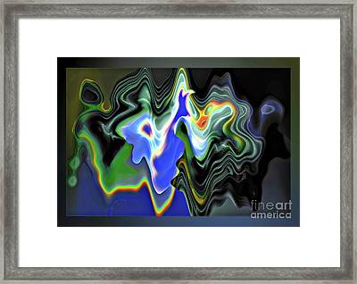 Untitled Argument Framed Print by Gabriele Pomykaj