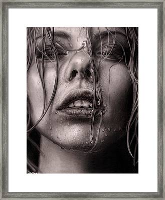 Untitled  Framed Print by Callie Fink