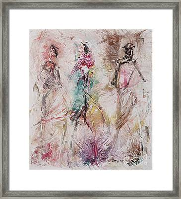 Untitled Framed Print by Ikahl Beckford