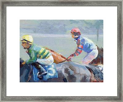 Untitled Saratoga Framed Print by Kimberly Santini