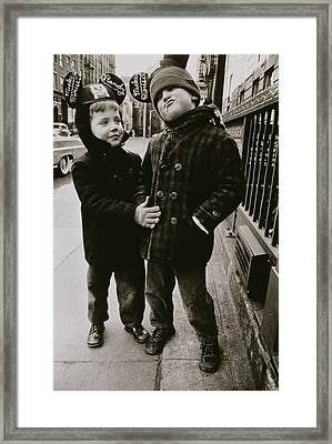 Untitled Thirty Four Framed Print by Nat Herz