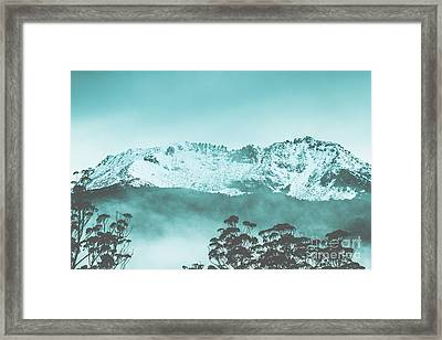 Untouched Winter Peaks Framed Print by Jorgo Photography - Wall Art Gallery
