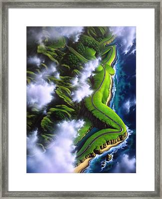 Unveiled Framed Print by Jerry LoFaro