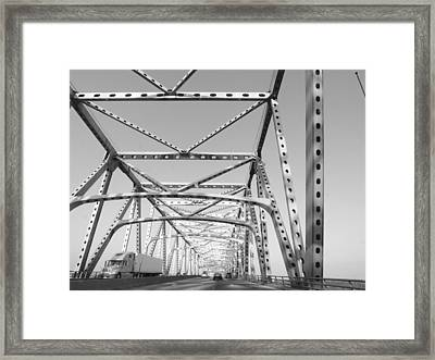 Up And Over Framed Print by James Granberry