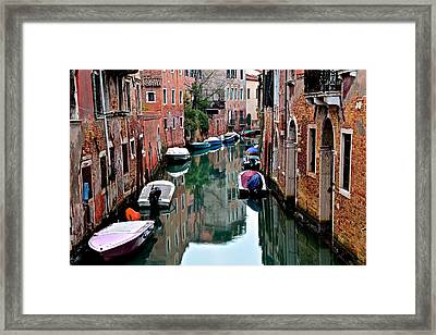 Up Around The Bend Framed Print by Frozen in Time Fine Art Photography