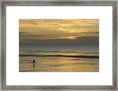 Up At First Light Framed Print by Hazy Apple