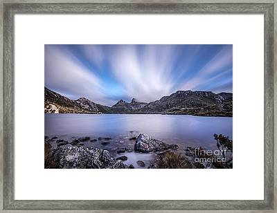 Up From Down Under Framed Print by Evelina Kremsdorf