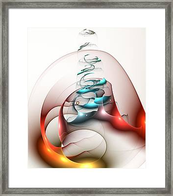 Up In The Air  Framed Print by Anastasiya Malakhova