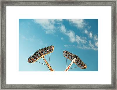 Up Side Down Framed Print by Todd Klassy