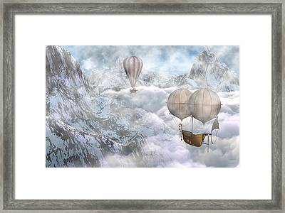 Up There Framed Print by Brainwave Pictures