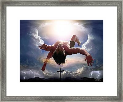 Upheld By Grace Framed Print by Bill Stephens