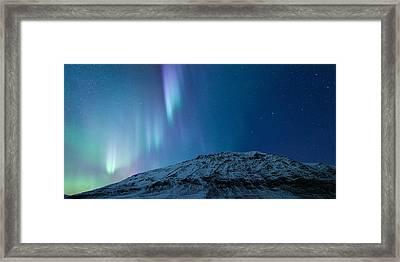 Uphill Rush Framed Print by Tor-Ivar Naess