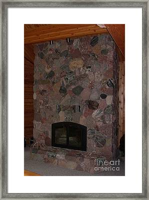 Upload For Stone Mosaics Group Framed Print by The Stone Age