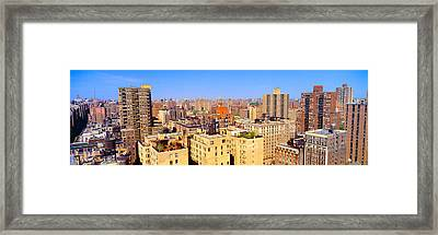 Upper West Side, Manhattan, New York+b3 Framed Print by Panoramic Images