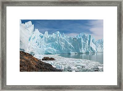 Upsala Glacier Framed Print by Michael Leggero
