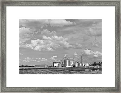 Upstate New York Farm Framed Print by Edward Fielding