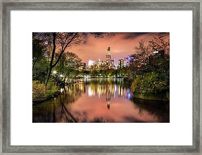 Uptown Skyscrapers Framed Print by Az Jackson