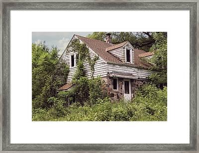 Urban Abandonment 2 Framed Print by Kim Hojnacki