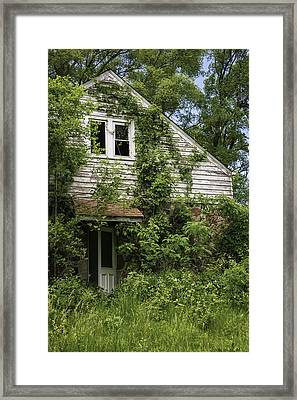 Urban Abandonment Framed Print by Kim Hojnacki