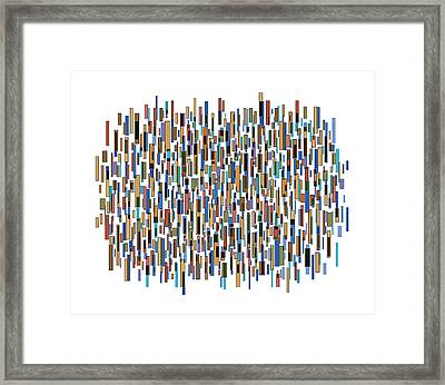Urban Abstract Framed Print by Frank Tschakert