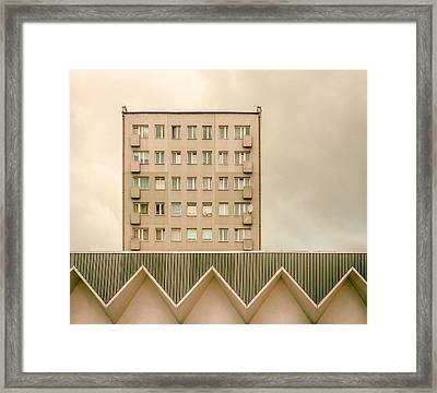 Urban Architectur Framed Print by Klaus Lenzen