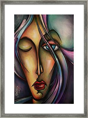 Urban Design Framed Print by Michael Lang