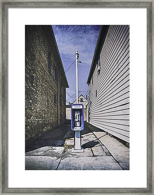 Urban Dinosaur Framed Print by Scott Norris