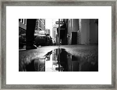 Urban Reflections Framed Print by Mountain Dreams