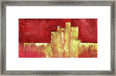 Urban Renewal I Framed Print by Shadia