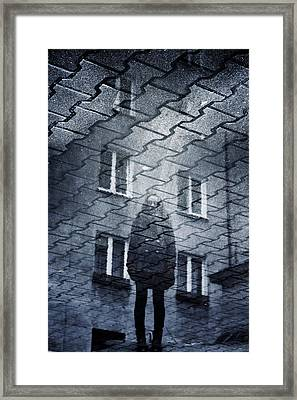 Urban Transparency Framed Print by Cambion Art