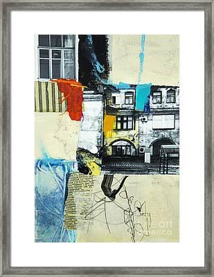 Urbanesque Framed Print by Elena Nosyreva