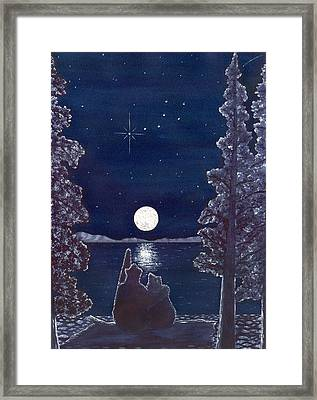 Ursa Minor Framed Print by Catherine G McElroy